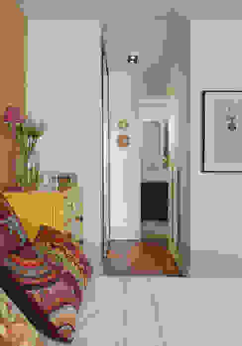 Chambre tropicale par Lore Arquitetura Tropical