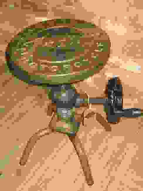 TABURETE BOOM muebles radio vintage SalonesTaburetes y sillas