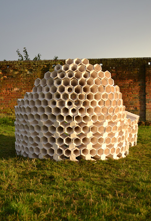 Hexacones Architectural Designer and Maker Jardin moderne