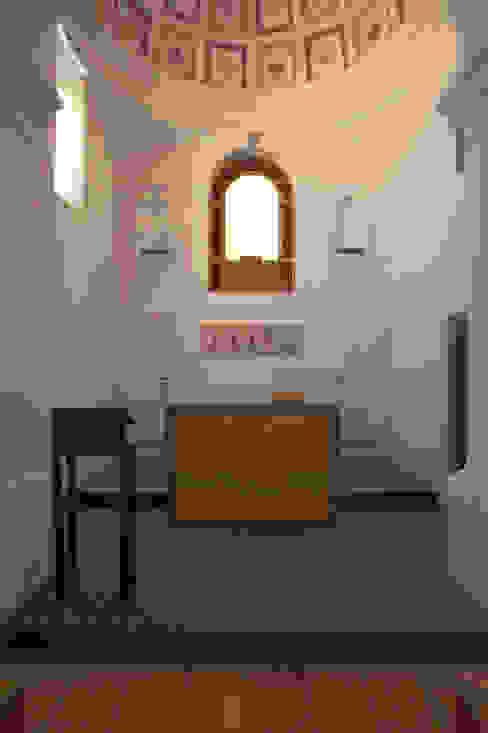 IGREJA DE NOSSA SENHORA DA LUZ (Reconstrução) (2003) por pedro pacheco arquitectos