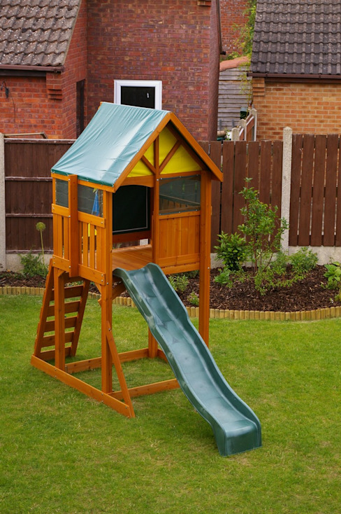 Climbing Frame for Smaller Garden Selwood Products Ltd Giardino classico