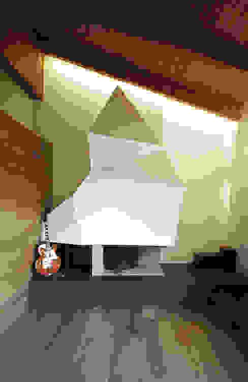 Casa tra le colline abruzzesi Soggiorno moderno di Luca Mancini | Architetto Moderno