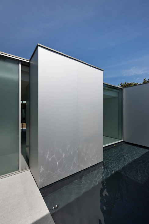 Casas de estilo  por CORREIA/RAGAZZI ARQUITECTOS,