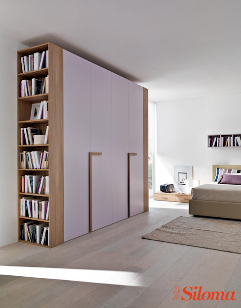 Siloma srl BedroomWardrobes & closets