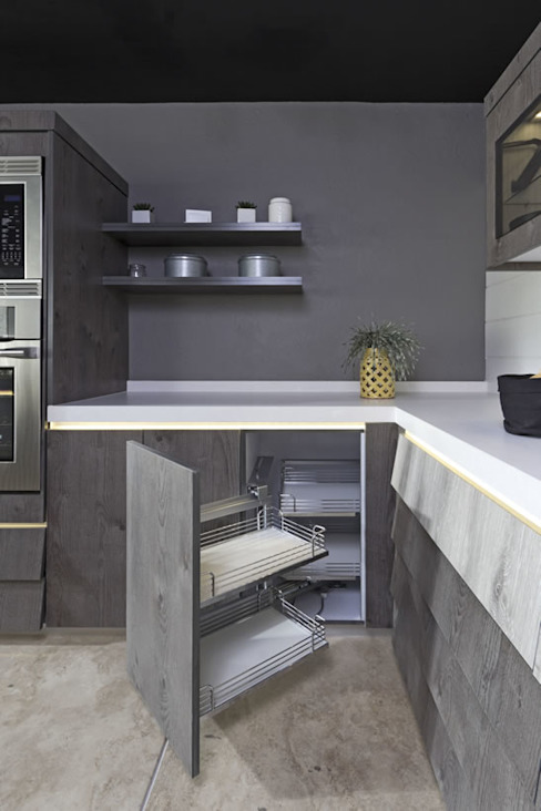 Dapur oleh Eos México, Modern