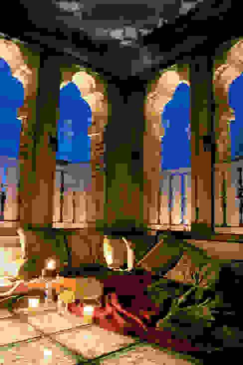Torreon, sala de estar de habitación Hoteles de estilo clásico de ARQUIGESTIÓN ARAGÓN S.L.P. Clásico