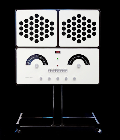 BRIONVEGA - Fonografo BLANC par Elite Diffusion Éclectique