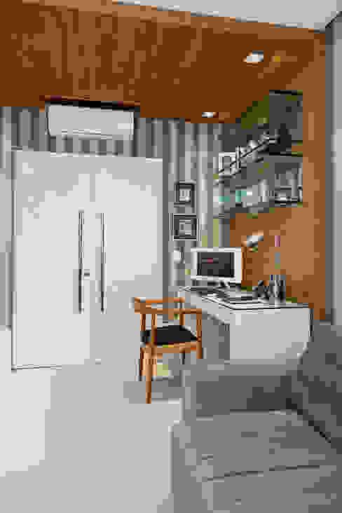 Ruang Kerja oleh Link Interiores