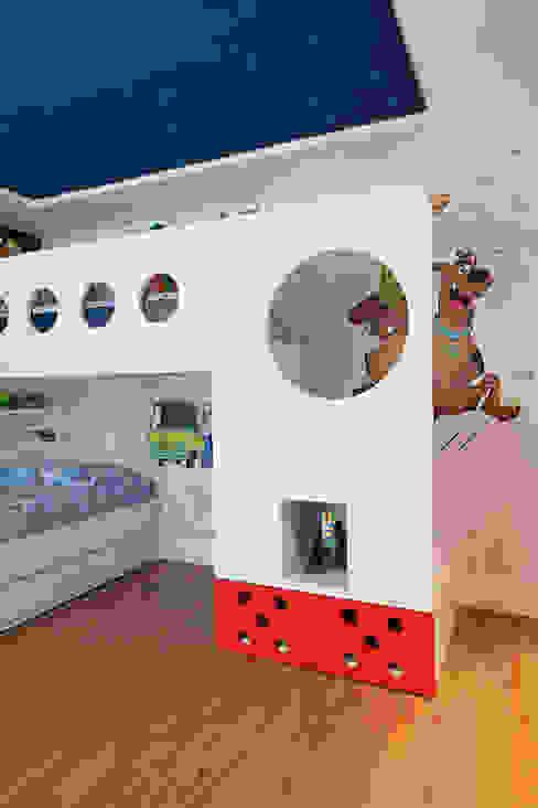 Детские комнаты в . Автор – Link Interiores,