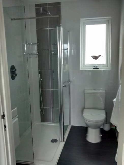 浴室 by Building With Frames