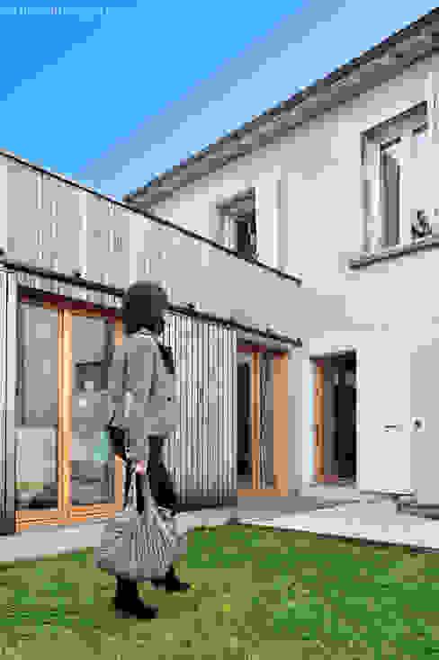 Minimalistyczne domy od Carole Guyon architecte Minimalistyczny