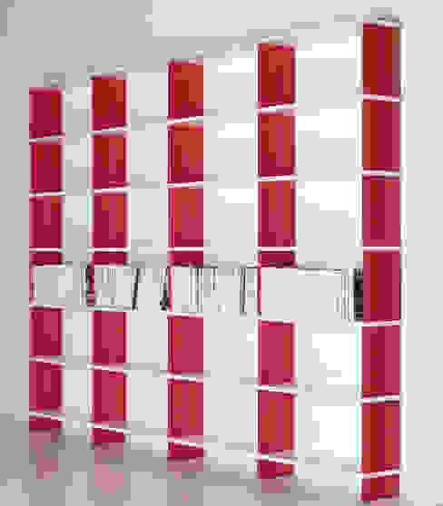 Libreria modulare NIKKA E13 di Piarotto.com - Mobilie snc Moderno