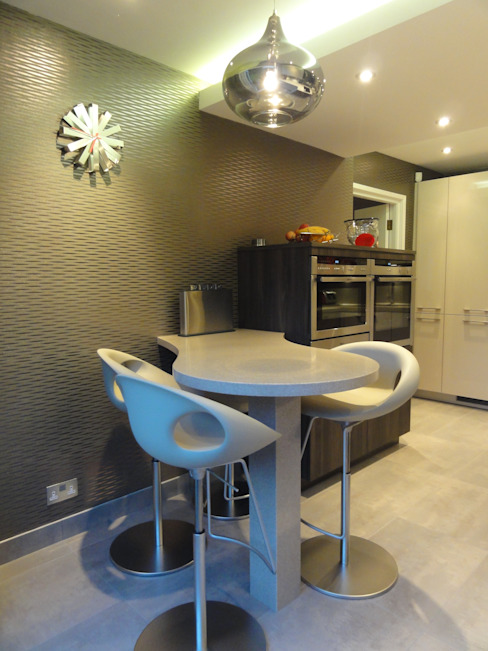 MR & MRS LAWLESS KITCHEN Cozinhas modernas por Diane Berry Kitchens Moderno