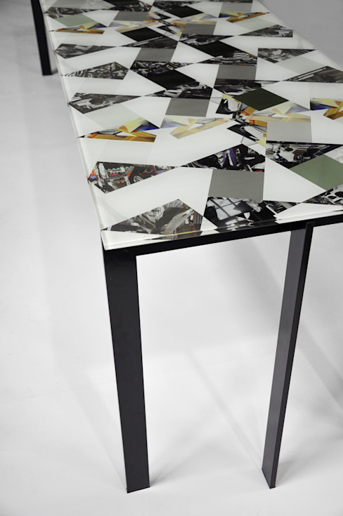 Losango Dining Table (Detail) de Briggs & Cole Moderno