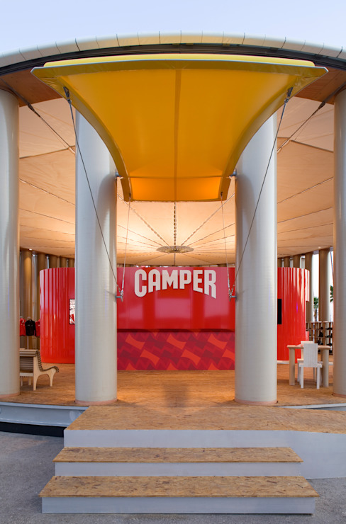 Camper Pavilion โดย 坂茂建築設計 (Shigeru Ban Architects)