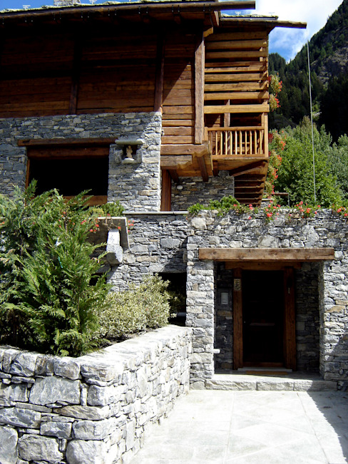 Casas de estilo rústico de Alessandra Bonanni Studio Rústico