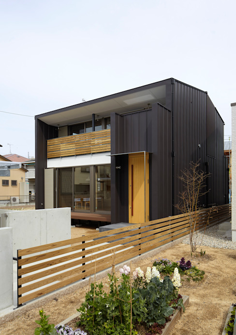 منازل تنفيذ Osamu Sano Architect & associates, إنتقائي
