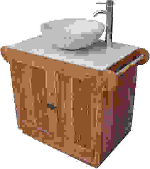 Exotisches Vintage-Waschbecken fürs Bad von Guru-Shop Asiatisch