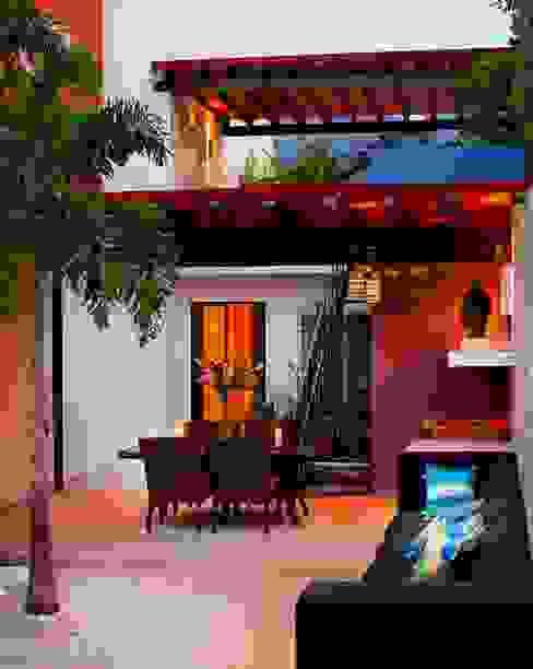 Terrazas de estilo  por Taller Estilo Arquitectura, Mediterráneo