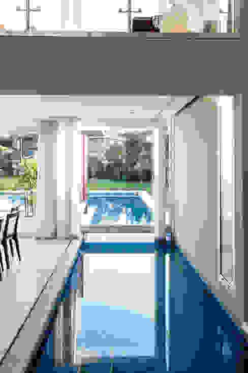 Modern pool by LEBEL Modern