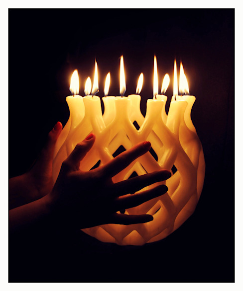 Candles di Alusi Ephemeral Art Eclettico