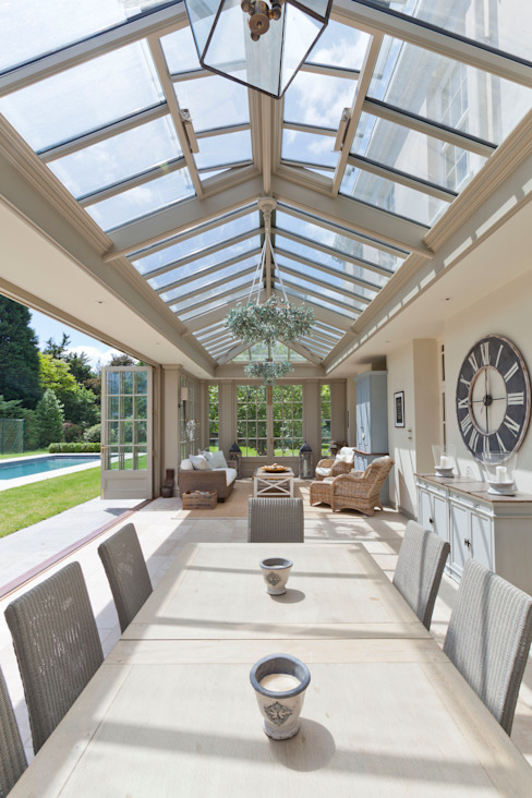 Georgian Conservatory Classic style conservatory by Vale Garden Houses Classic