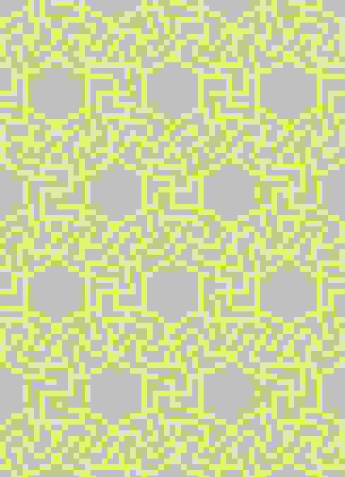 MICA Zen Rainbow Collection - Yellow Mica Gallery Ltd Parede e pavimentoPapel de parede