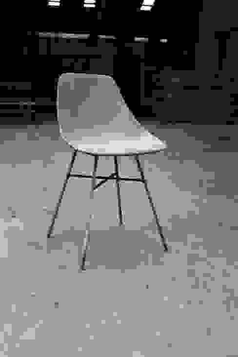 Chaise d'Hauteville Béton par Lyon Béton Industriel