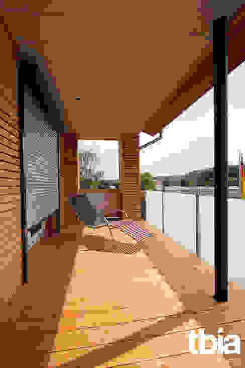 Balkon von tbia - Thomas Bieber InnenArchitekten Modern