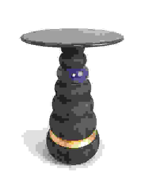 Bhodi table Barnard interiors Ltd Living roomSide tables & trays
