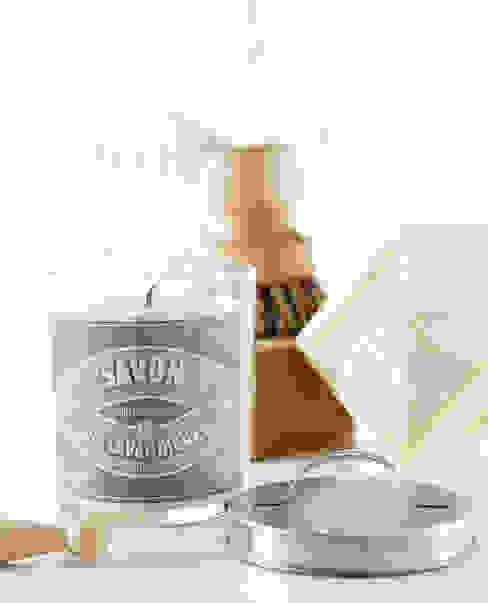 Bougie parfumée vintage savon des lavandières par Bougies la Française Éclectique