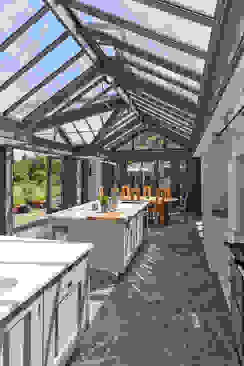 Large Kitchen Conservatory Vale Garden Houses เรือนกระจก