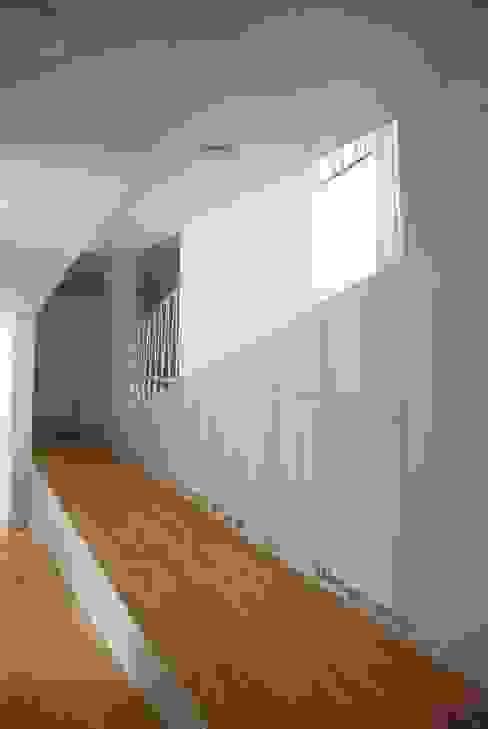 Modern Corridor, Hallway and Staircase by raum.werk.plus. architektur + raumdesign Modern