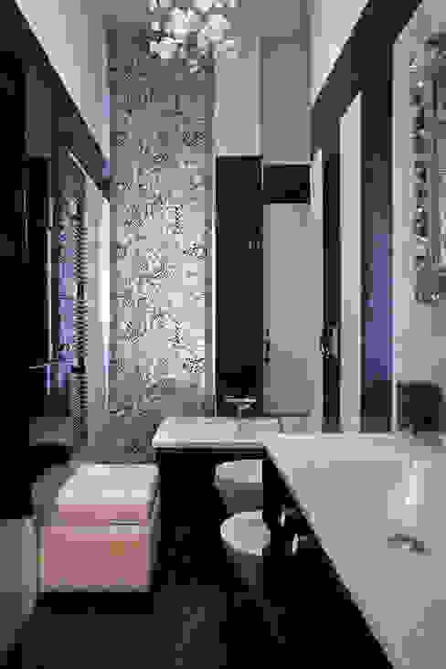 Baños modernos de Alessandro Multari Ingegnere - I AM puro ingegno italiano Moderno