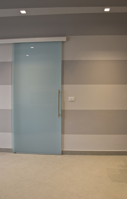 _Shanghai Home_ Pareti & Pavimenti in stile moderno di Alessandro Multari Ingegnere - I AM puro ingegno italiano Moderno