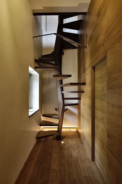 Modern Corridor, Hallway and Staircase by Elia Falaschi Photographer Modern