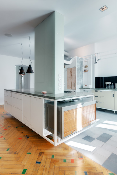Projekty,  Salon zaprojektowane przez Ringo Paulusch,