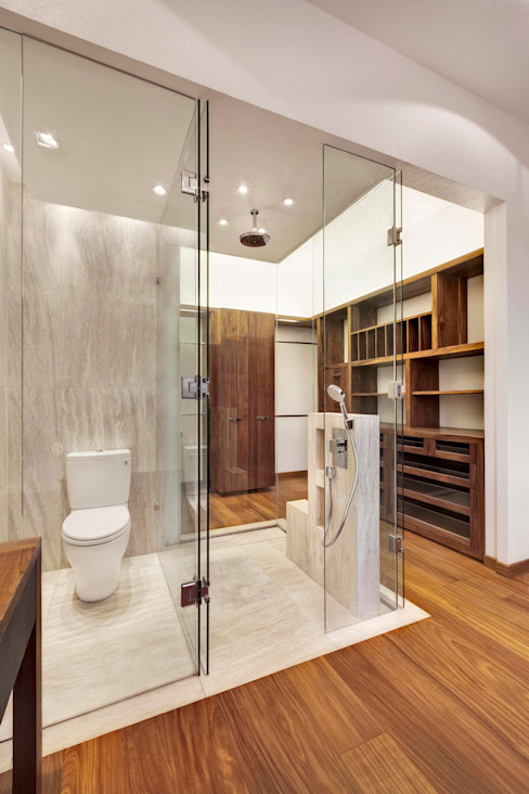 Bathroom by Lopez Duplan Arquitectos, Modern