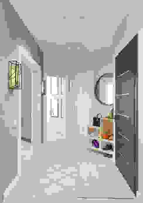 Modern Corridor, Hallway and Staircase by Anna Clark Interiors Modern