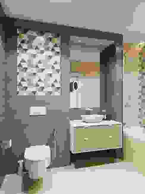 Scandinavian style bathroom by Anna Clark Interiors Scandinavian