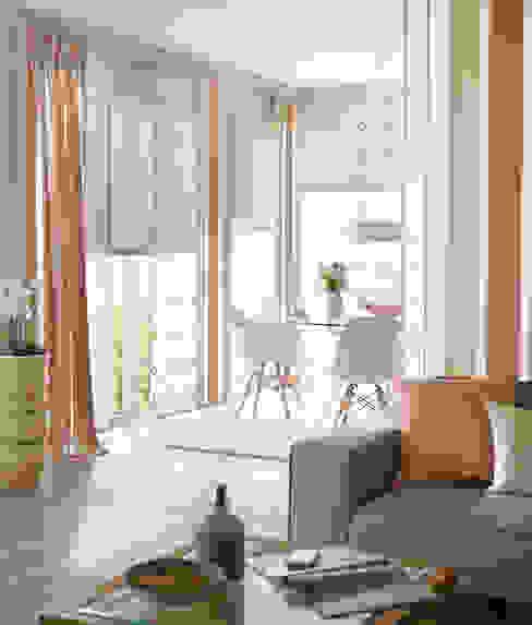 Projekty,   zaprojektowane przez UNLAND International GmbH , Nowoczesny Tekstylia Złoty