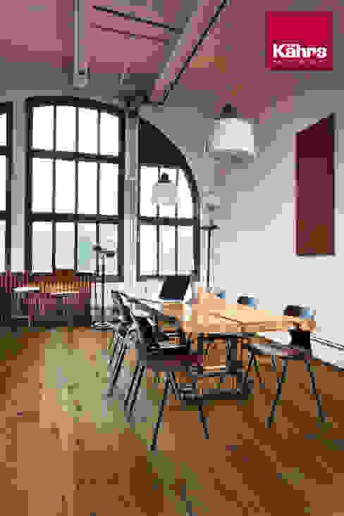 Industrial style dining room by Kährs Parkett Deutschland Industrial