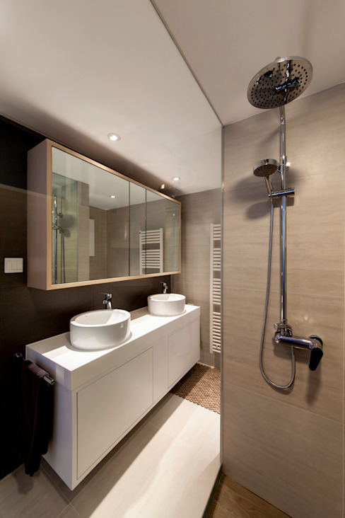 arctitudesign Minimalist style bathroom
