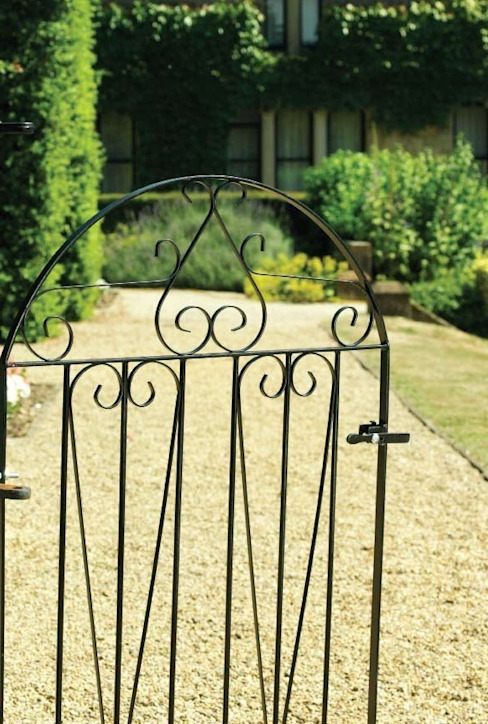 A Selection of Wrought Iron Gates: classic  by Garden Gates Direct, Classic