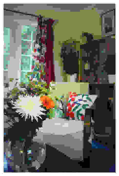 Living Room, Leeds 스칸디나비아 거실 by Crow's Nest Interiors 북유럽