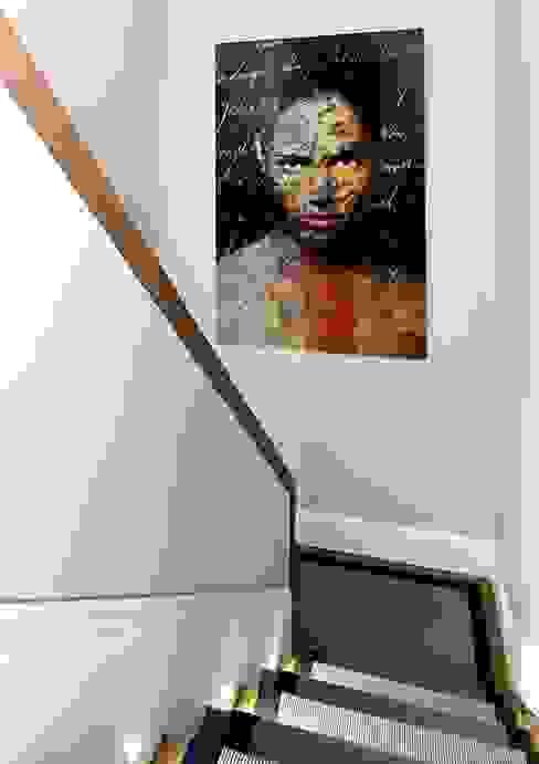 staircase Modern Duvar & Zemin Esra Kazmirci Mimarlik Modern