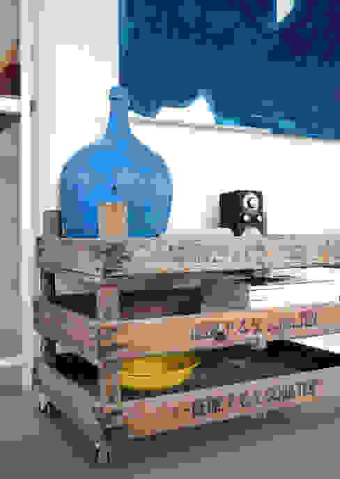工業風的玄關、走廊與階梯 根據 Kristina Steinmetz Design 工業風