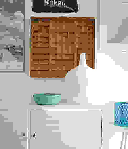 现代客厅設計點子、靈感 & 圖片 根據 Kristina Steinmetz Design 現代風