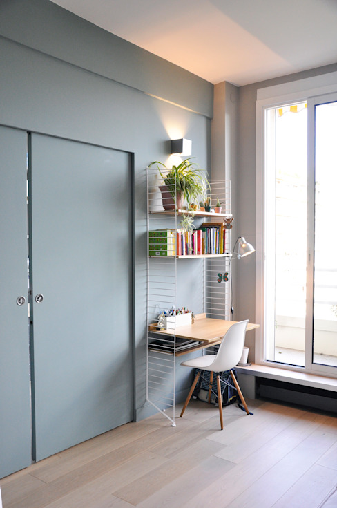 Study/office by Barbara Sterkers , architecte d'intérieur, Modern