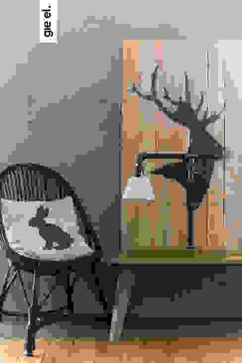 Industrial lamp: styl , w kategorii  zaprojektowany przez Gie El Home,Industrialny